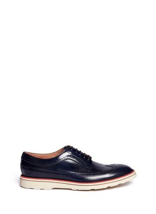Main View - Click To Enlarge - Paul Smith - 'Grand' smooth leather Derbies
