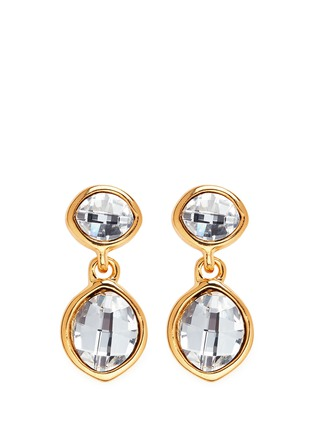 Main View - Click To Enlarge - Kenneth Jay Lane - Faceted crystal drop earrings