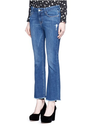 Front View - Click To Enlarge - FRAME DENIM - 'Le Crop Mini Boot' cropped flare jeans