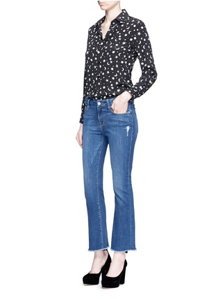 Figure View - Click To Enlarge - FRAME DENIM - 'Le Crop Mini Boot' cropped flare jeans
