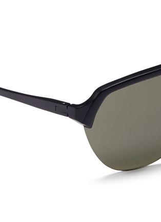 Detail View - Click To Enlarge - District Vision - 'Nagata' aviator running sunglasses