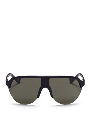 Main View - Click To Enlarge - District Vision - 'Nagata' aviator running sunglasses