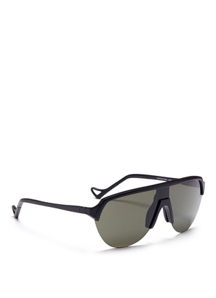 Figure View - Click To Enlarge - District Vision - 'Nagata' aviator running sunglasses