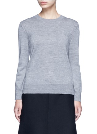 Main View - Click To Enlarge - MARC JACOBS - Jewel button back wool sweater
