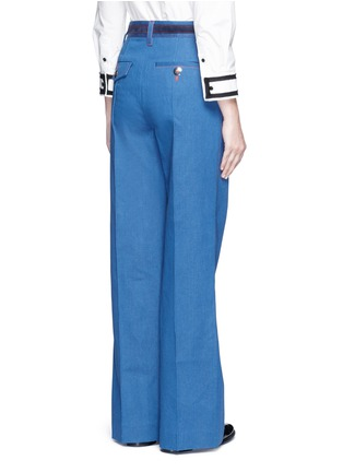 Back View - Click To Enlarge - Marc Jacobs - Wide leg denim pants