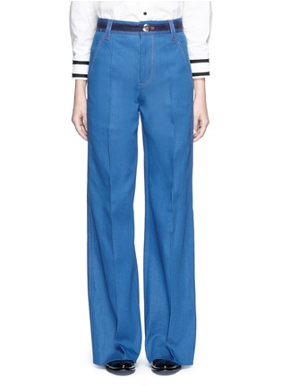 Main View - Click To Enlarge - Marc Jacobs - Wide leg denim pants