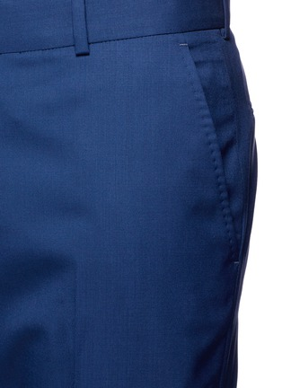 Detail View - Click To Enlarge - Alexander McQueen - Wool hopsack pants