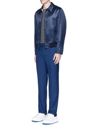 Figure View - Click To Enlarge - Alexander McQueen - Wool hopsack pants