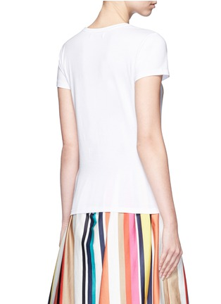 Back View - Click To Enlarge - alice + olivia - 'Stacey Frida' print T-shirt