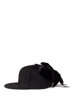 Figure View - Click To Enlarge - Piers Atkinson - Velvet bow baseball cap