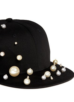 Detail View - Click To Enlarge - Piers Atkinson - Scattered pearl baseball cap