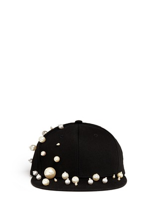 Main View - Click To Enlarge - Piers Atkinson - Scattered pearl baseball cap