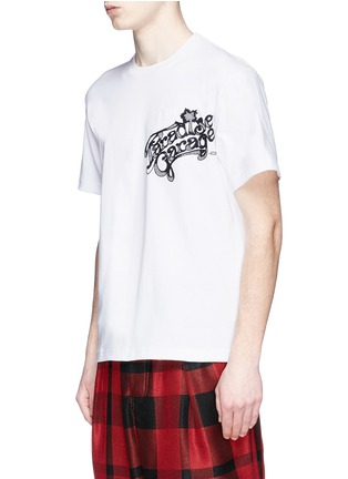Front View - Click To Enlarge - Sacai - 'Paradise Garage' embroidery sweatshirt T-shirt