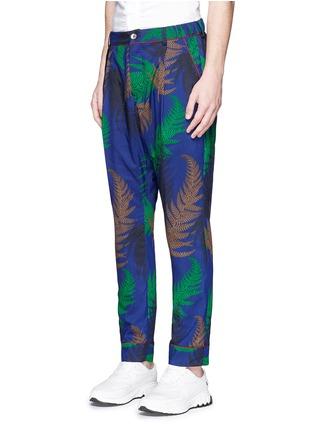 Front View - Click To Enlarge - Sacai - Botanical print pyjama pants