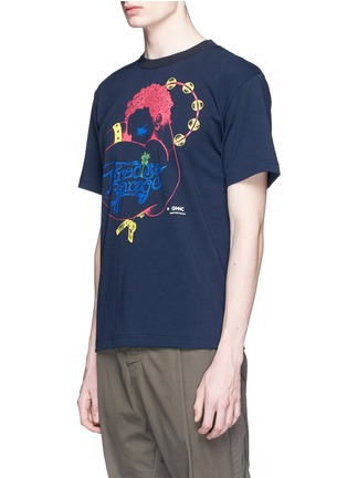Front View - Click To Enlarge - Sacai - 'Paradise Garage' print cotton T-shirt