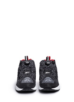 Front View - Click To Enlarge - Reebok - 'InstaPump Fury Road CNY' vector print sneakers