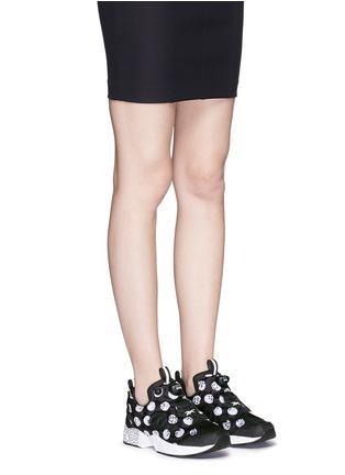 Figure View - Click To Enlarge - Reebok - 'Instapump Fury Road SG' slip-on sneakers