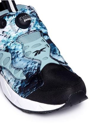 Detail View - Click To Enlarge - Reebok - 'Instapump Fury Road SG' slip-on sneakers