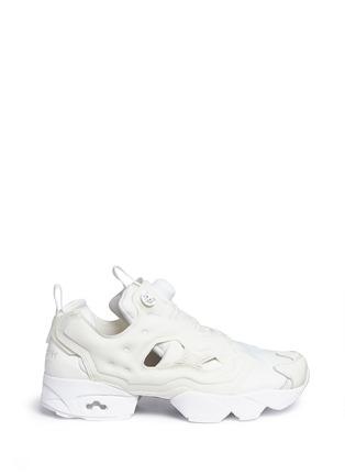 Main View - Click To Enlarge - Reebok - 'InstaPump Fury Gallery' slip-on sneakers