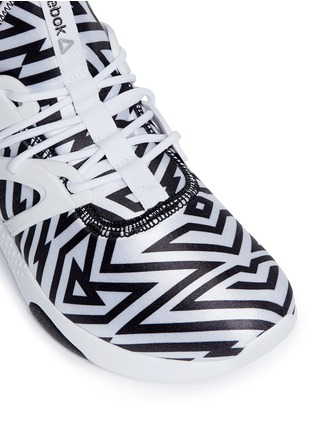 Detail View - Click To Enlarge - Reebok - 'Hayasu' graphic print sneakers
