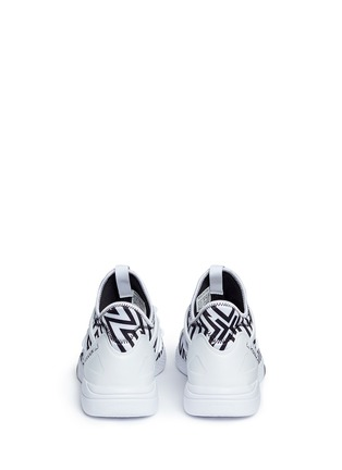 Back View - Click To Enlarge - Reebok - 'Hayasu' graphic print sneakers