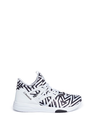 Main View - Click To Enlarge - Reebok - 'Hayasu' graphic print sneakers