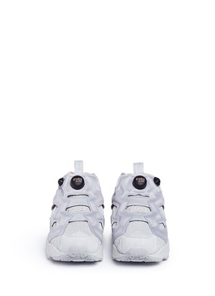 Front View - Click To Enlarge - Reebok - 'Instapump Fury CLSHX' slip-on sneakers