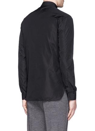Back View - Click To Enlarge - NEIL BARRETT - Thunderbolt print poplin shirt