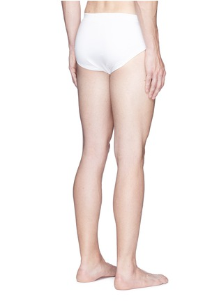 Back View - Click To Enlarge - ZIMMERLI - '286 SEA ISLAND' JERSEY BRIEFS