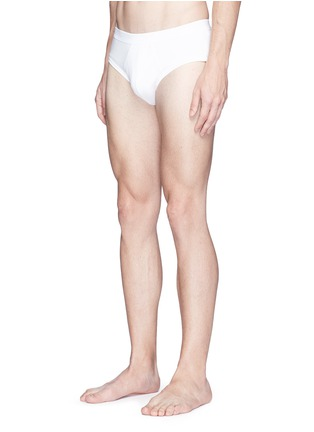 Figure View - Click To Enlarge - ZIMMERLI - '286 SEA ISLAND' JERSEY BRIEFS