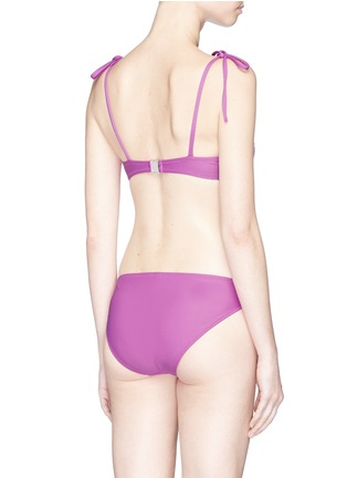 Back View - Click To Enlarge - ARAKS - 'Myriam' underwired balcony bikini top