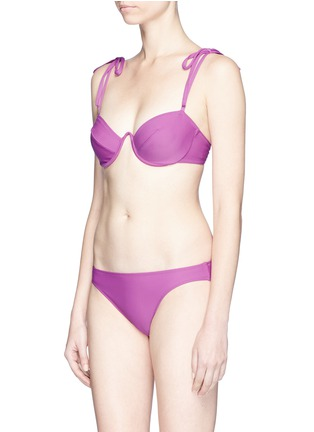 Figure View - Click To Enlarge - ARAKS - 'Myriam' underwired balcony bikini top