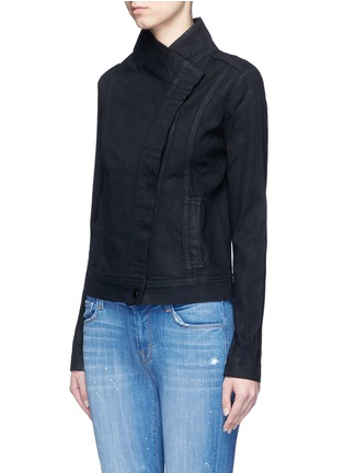 Front View - Click To Enlarge - Vince - Coated denim jacket