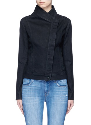 Main View - Click To Enlarge - Vince - Coated denim jacket