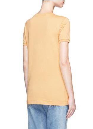 Back View - Click To Enlarge - - - Embellished DG Family appliqué T-shirt