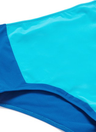 Detail View - Click To Enlarge - Araks - 'Emil' colourblock high waist hipster bikini bottoms