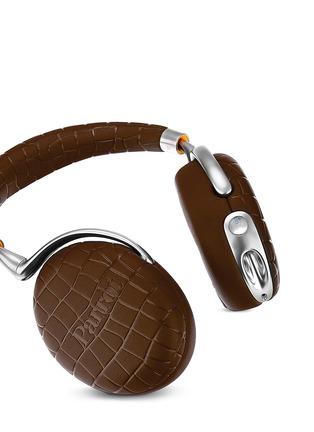 Detail View - Click To Enlarge - Parrot - Zik 3 croc embossed wireless headphones