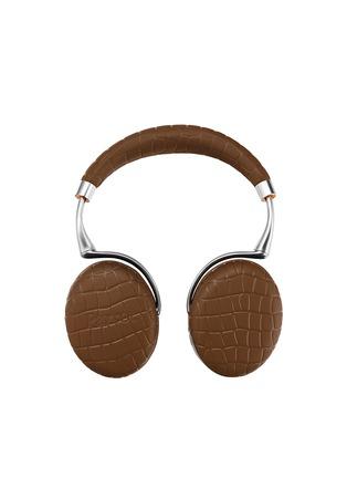 - Parrot - Zik 3 croc embossed wireless headphones