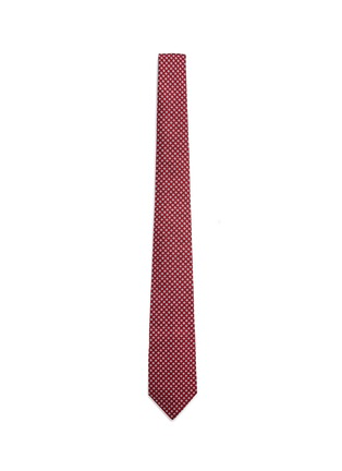 Main View - Click To Enlarge - Paul Smith - Medallion embroidery silk tie