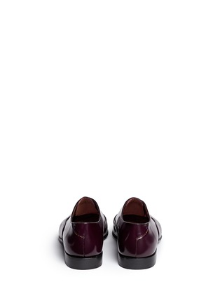 Back View - Click To Enlarge - Paul Smith - Starling' spazzolato leather Oxfords