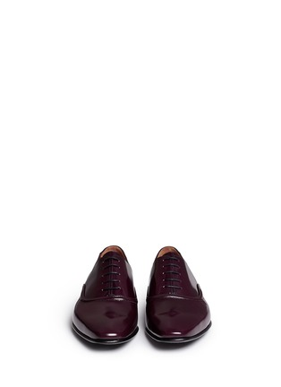Front View - Click To Enlarge - Paul Smith - Starling' spazzolato leather Oxfords