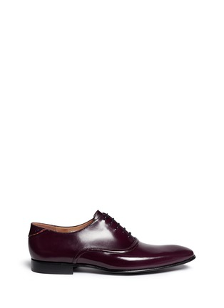 Main View - Click To Enlarge - Paul Smith - Starling' spazzolato leather Oxfords