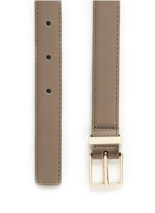 Detail View - Click To Enlarge - Maison Boinet - Leather belt