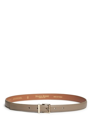 Main View - Click To Enlarge - Maison Boinet - Leather belt