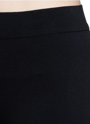 Detail View - Click To Enlarge - Alaïa - Dense knit hot pants