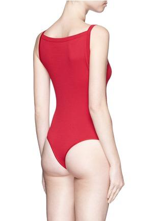 Back View - Click To Enlarge - Alaïa - Knit bodysuit