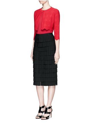 Figure View - Click To Enlarge - Alaïa - Knit bodysuit
