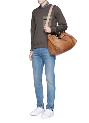 Figure View - Click To Enlarge - Meilleur Ami Paris - 'Bel Ami' leather duffle bag