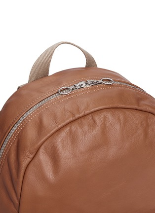 Detail View - Click To Enlarge - Meilleur Ami Paris - 'Sac A Dos' leather backpack