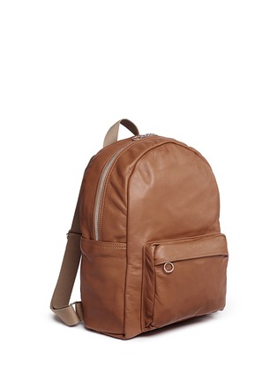Front View - Click To Enlarge - Meilleur Ami Paris - 'Sac A Dos' leather backpack